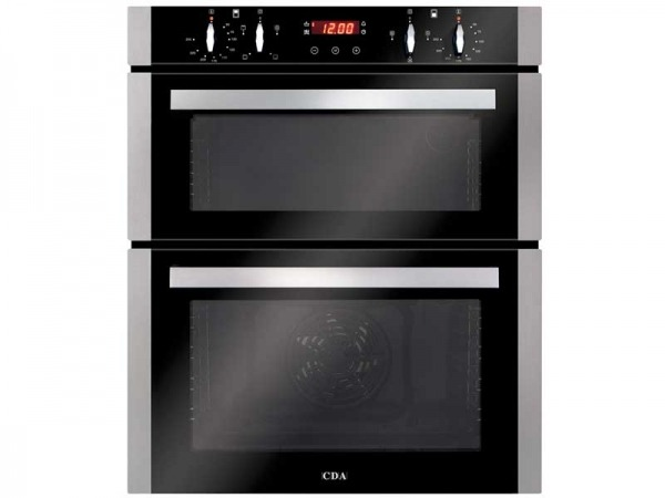 CDA DC740SS Built-under Electric Double Oven