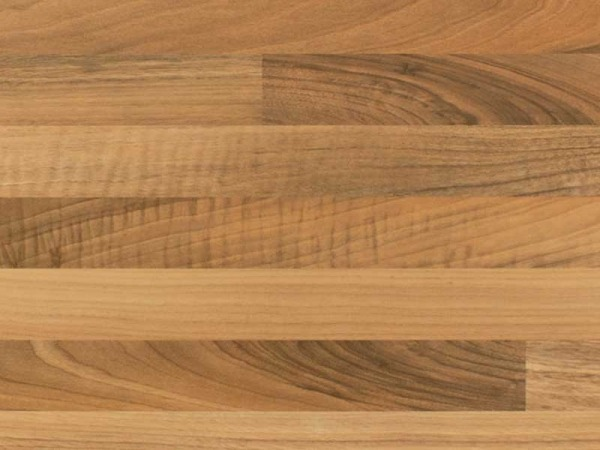 Light Walnut Block Laminate Worktop