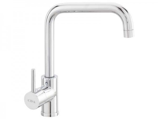 CDA TC66CH Side Single Lever Tap with Quad Spout