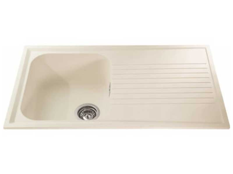 CDA AS1CM Composite Single Bowl Sink