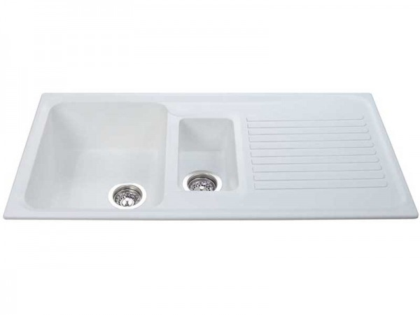 CDA AS2WH Composite 1.5 Bowl Sink