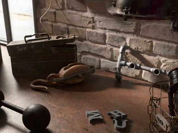Ceramic Rust Laminate Worktop