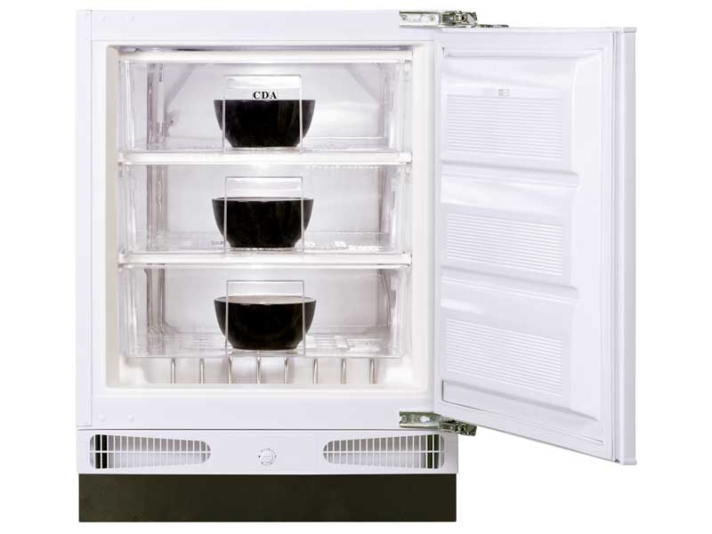 CDA FW283 Intergrated Under Counter Freezer