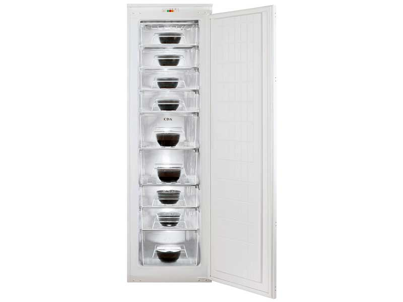 CDA FW881 Integrated Full Height Freezer
