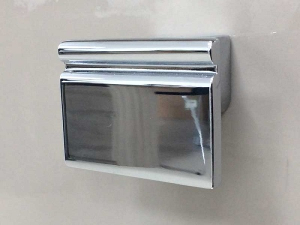 Esme Contemporary Square Chrome Handle