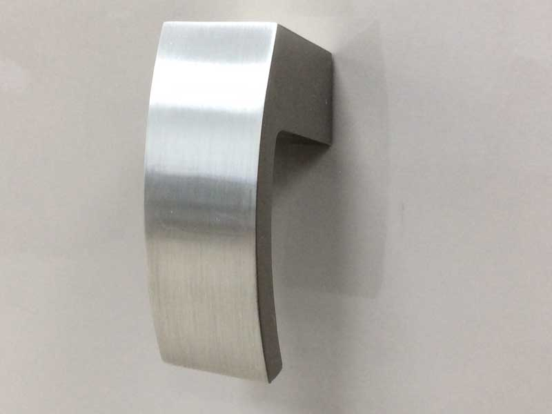 Contemporary Polished Chrome Handle