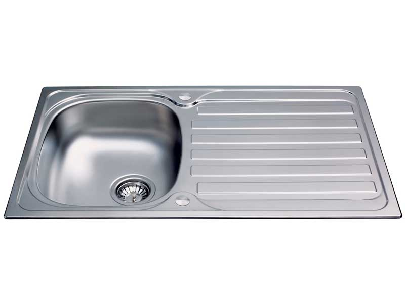 CDA KA20SS Compact Single Bowl Sink