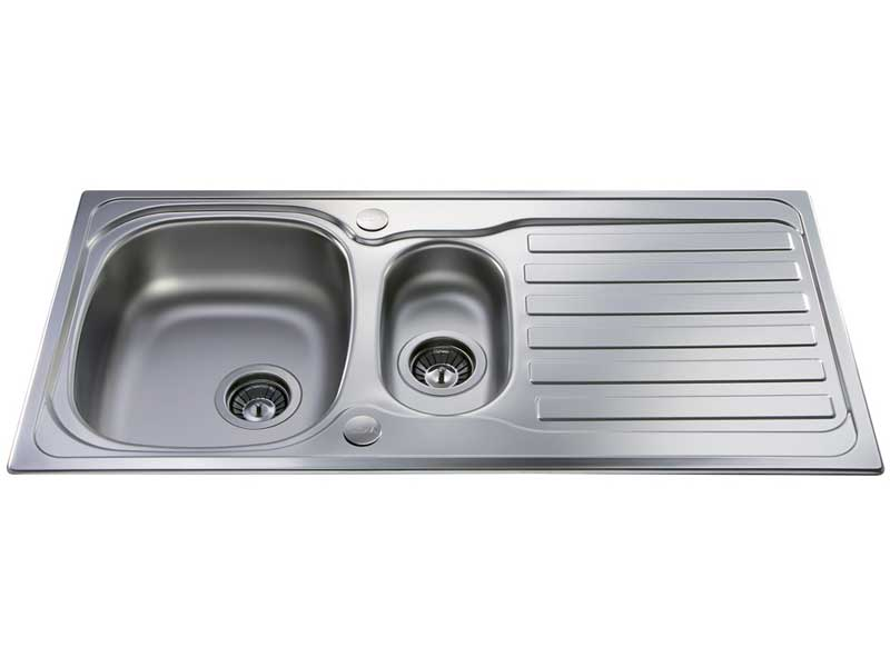 CDA KA22SS Compact 1.5 Bowl Sink
