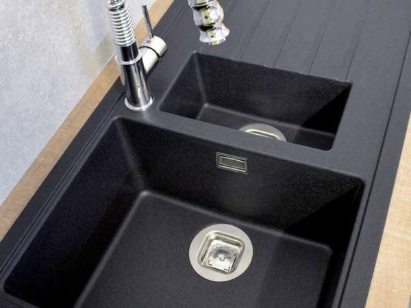 CDA KG44BL Composite 1.5 Bowl Sink