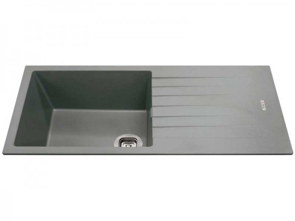 CDA KG73GR Composite Single Bowl Sink
