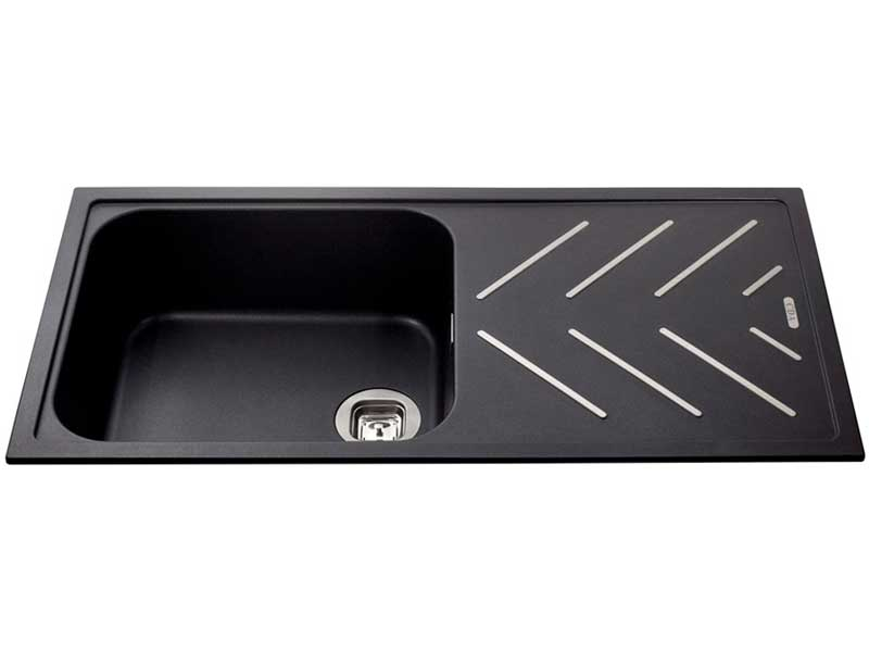 CDA KG81BL Composite Single Bowl Sink