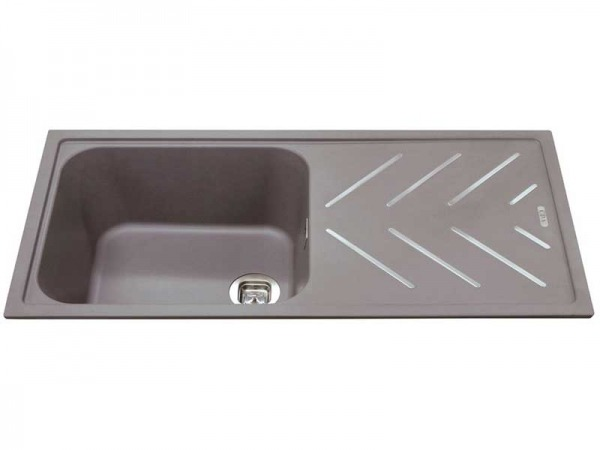 CDA KG81GR Composite Single Bowl Sink