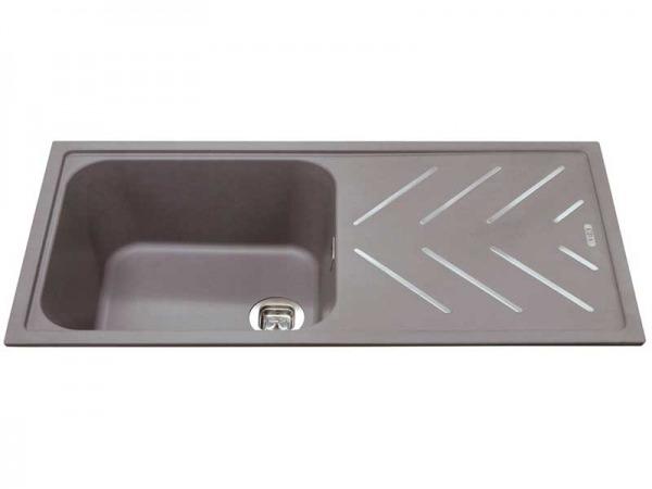 CDA KG81GR Composite Single Bowl Sink
