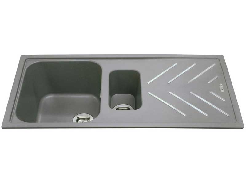 CDA KG82GR Composite 1.5 Bowl Sink