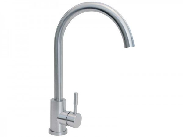 CDA TC31SS Single Lever Swan Neck Tap
