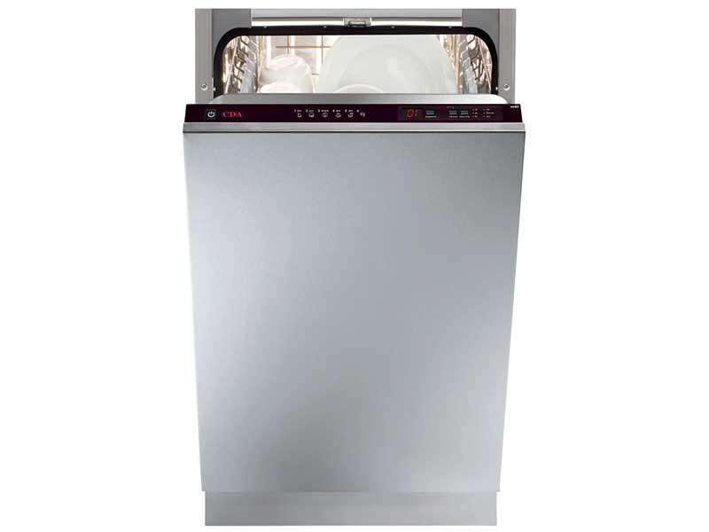 CDA WC432 Slimline Integrated Dishwasher