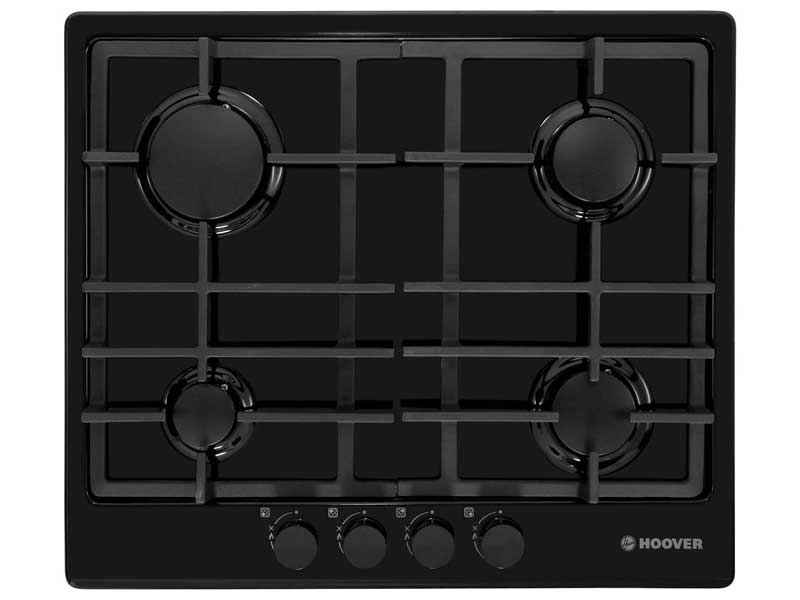 Hoover HGH64SCE-B 4 Burner Gas Hob