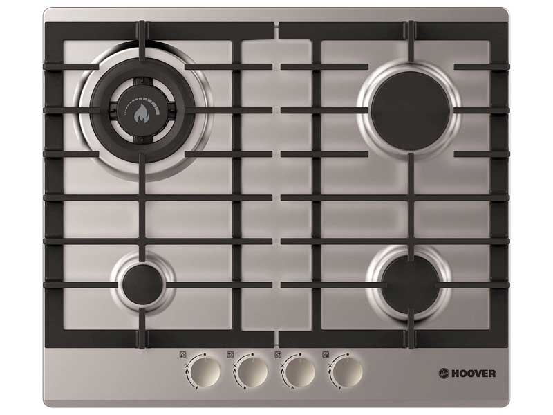 Hoover HGH64SDWCEX 4 Burner Gas Hob