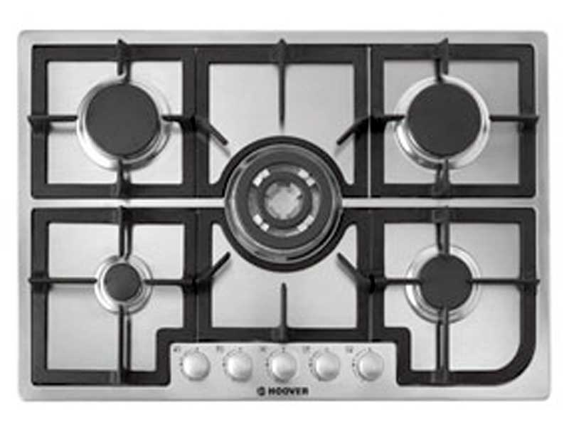 Hoover HGH75SQCX 5 Burner Gas Hob
