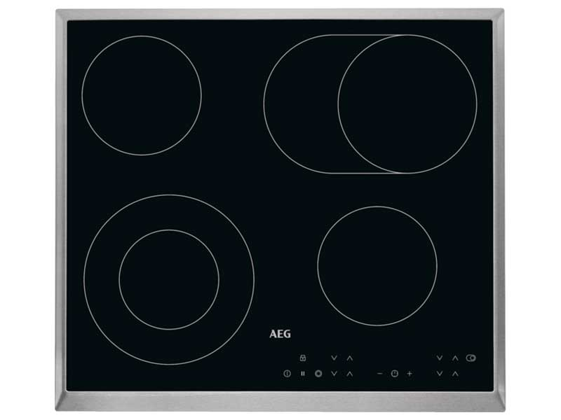 AEG HK634060FB 4 Zone Ceramic Hob