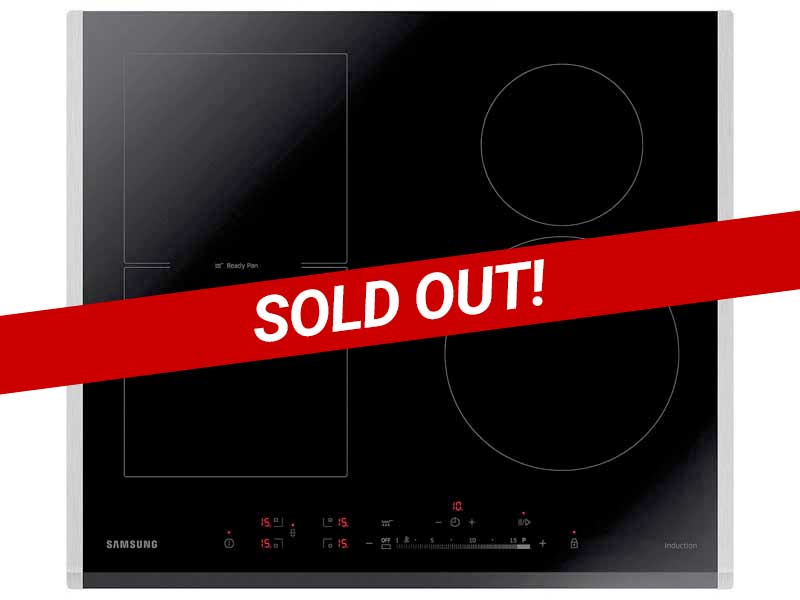 Samsung NZ64H57477K 4 Zone Induction Hob