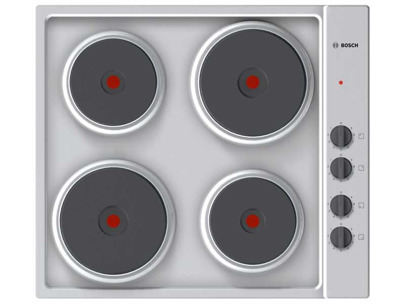 Bosch PEE689CA1 4 Zone Electric Solid Plate Hob