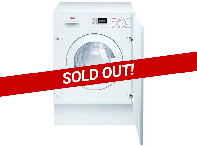 Bosch WKD28350GB Integrated Washer Dryer