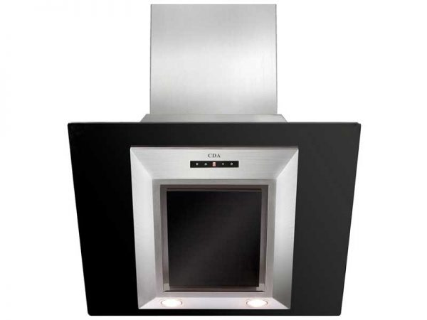 CDA EVG6BL Angled Glass Extractor