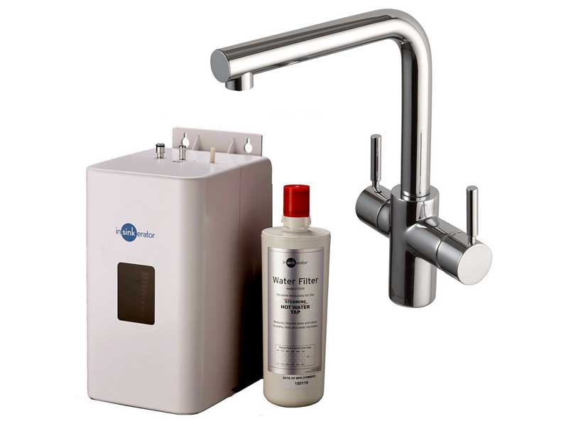 Insinkerator 3 in 1 Instant Boiling Hot Water Tap, NeoTank & Filter