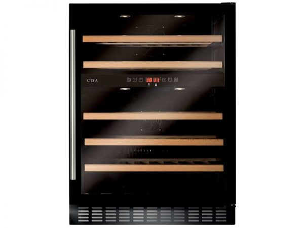 CDA FWC604BL Freestanding Wine Cooler