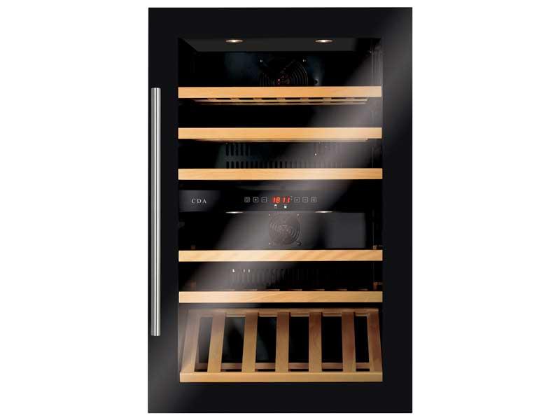 CDA FWV902BL Integrated Wine Cooler