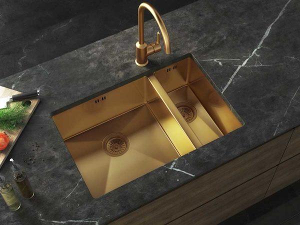 Ellsi Elite Inset/UM Gold Sink 1.5 Bowl