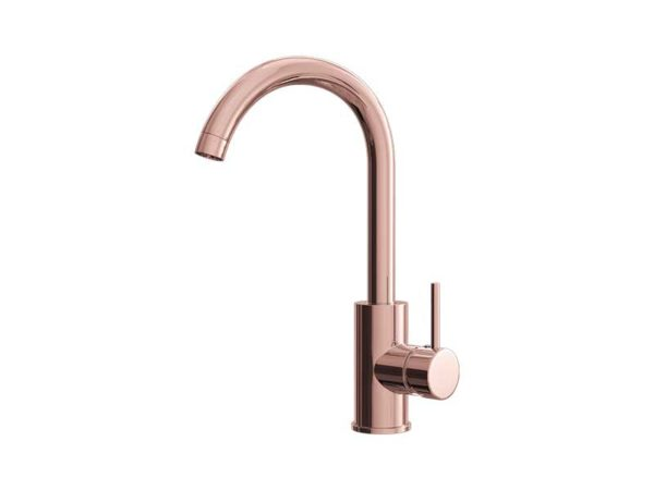 Ellsi Giona Rose Gold Mixer Tap with Swivel Spout