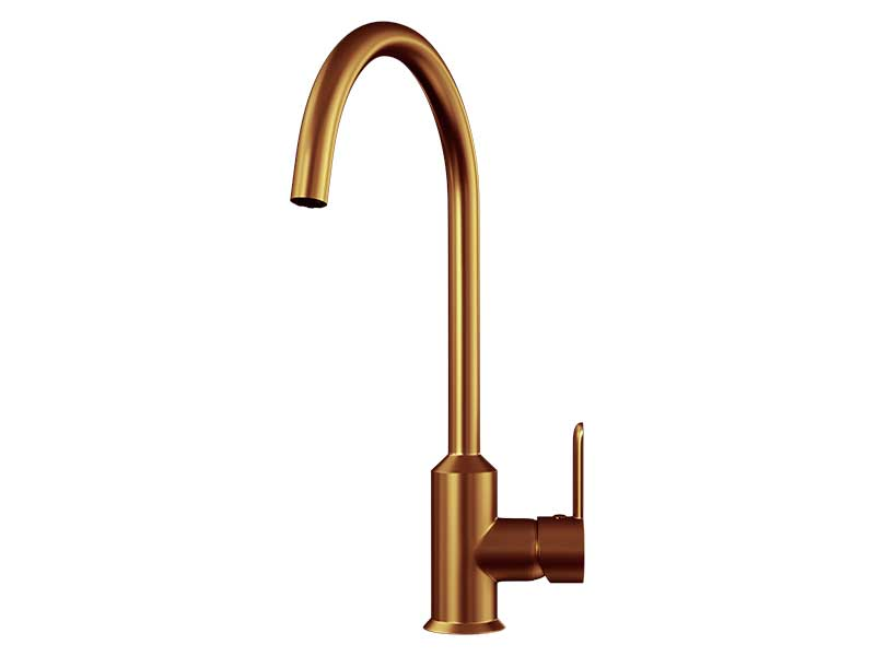 Ellsi Entice Copper Mixer Tap with Swivel Spout