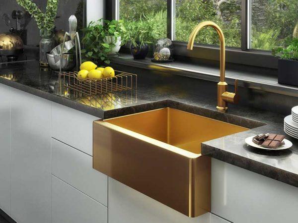 Ellsi Excel Belfast Style Gold Sink