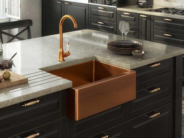 Ellsi Excel Belfast Style Copper Sink