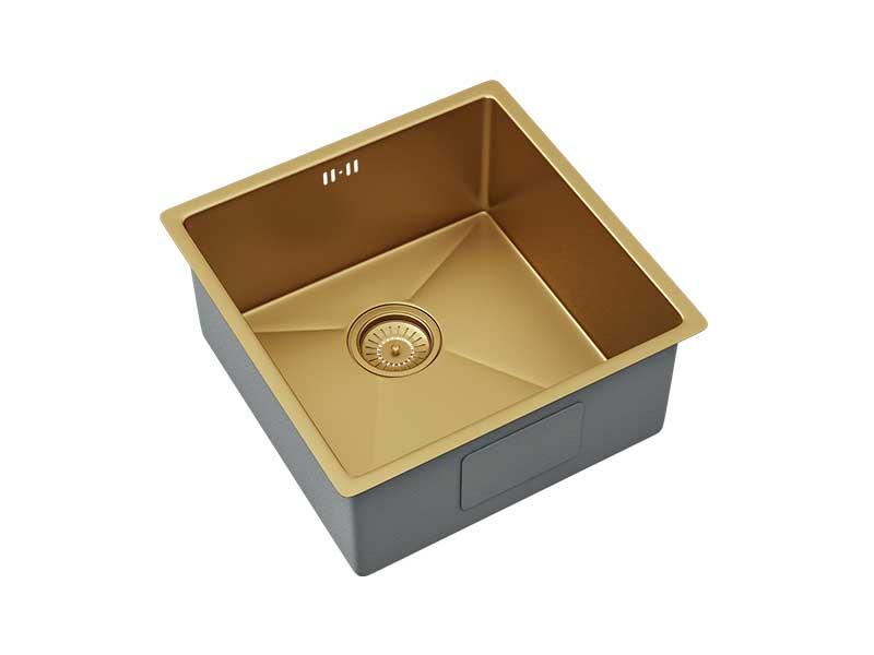 Ellsi Elite Inset/UM Gold Sink Single Bowl