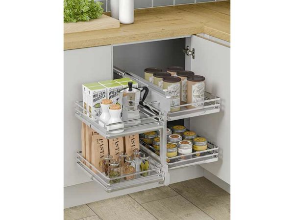 Innostor Plus Blind Corner Organiser, 800mm