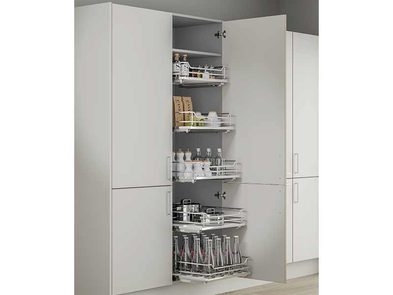 Innostor Plus Larder Pull Out Unit, 300mm