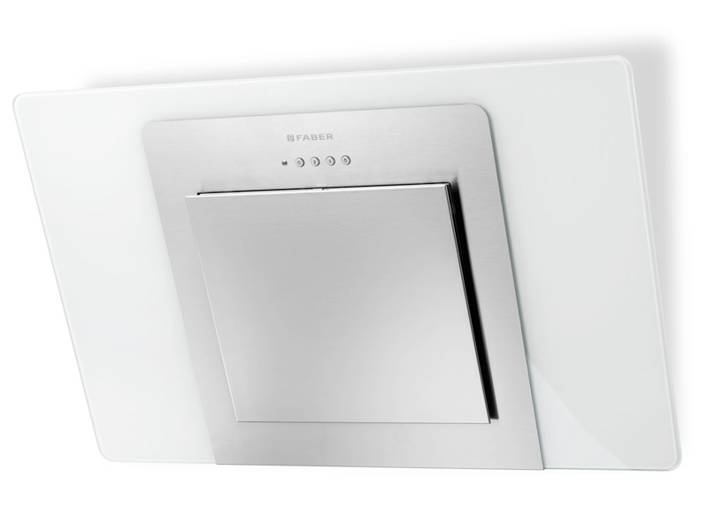 Faber City White 60cm Wall Hood