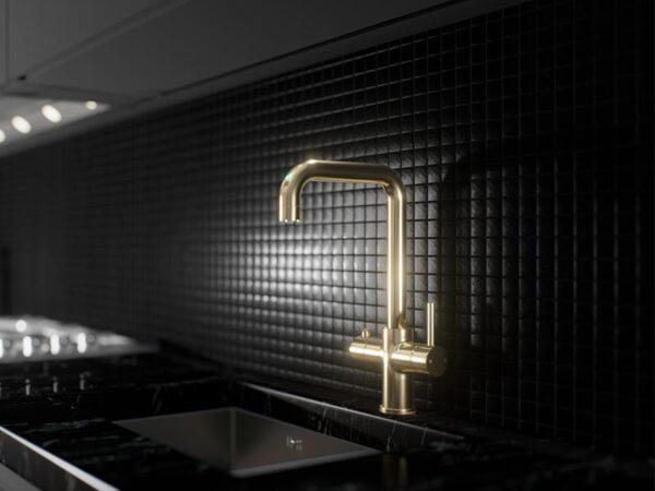 Ellsi 3-in-1 Instant Hot Water Tap - Gold