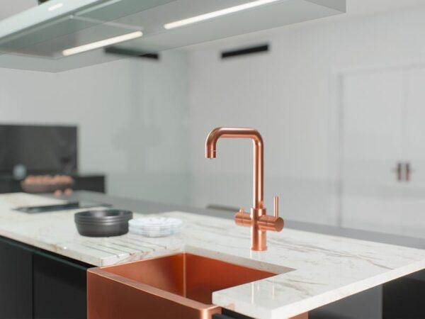 Ellsi 3-in-1 Instant Hot Water Tap - Copper