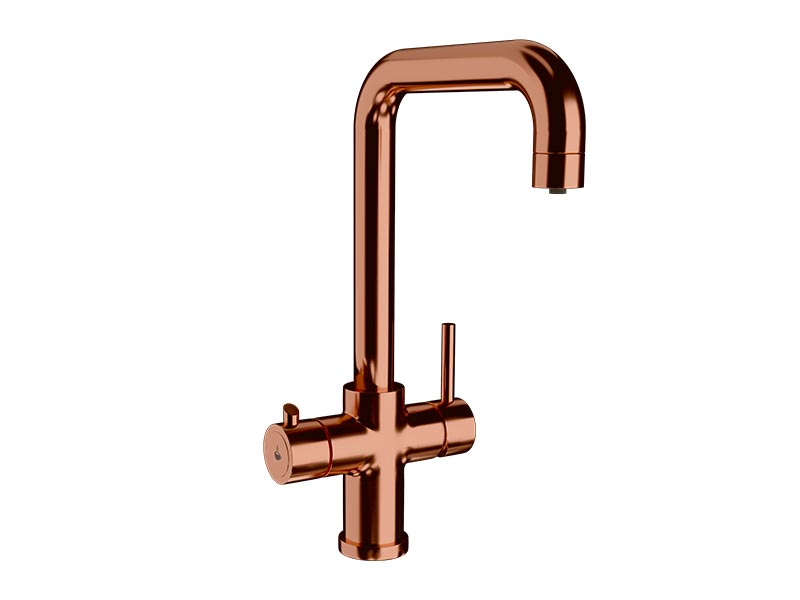 Ellsi 3-in-1 Instant Hot Water Tap - Copper