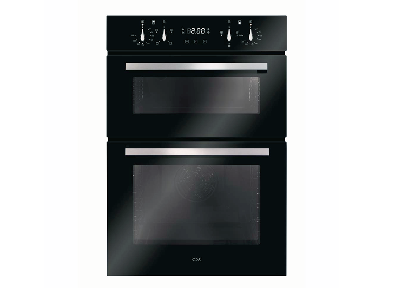 CDA DC941BL Built-in Double Electric Oven
